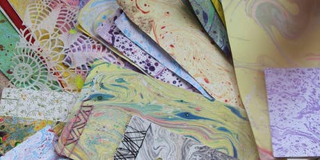 Marbling & Book Binding Workshop at Stitch Studio tickets
