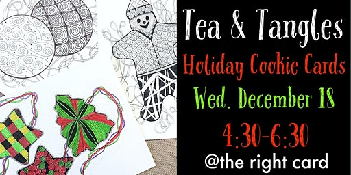 Tea & Tangles: Holiday Cookie Cards