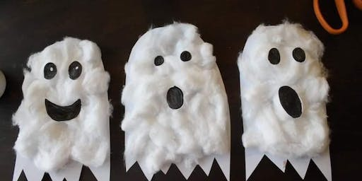 Sold Out! Toddler Puffy Ghost Craft