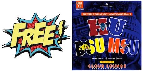 THE TRIPLE THREAT FINALE HU BSU & MSU tickets