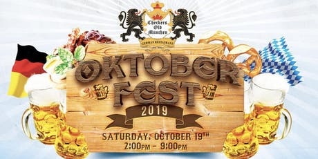 Checkers Old Munchen 2019 Oktoberfest *FREE ENTRANCE* tickets