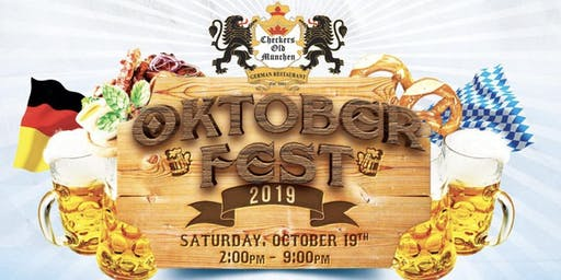 Checkers Old Munchen 2019 Oktoberfest *FREE ENTRANCE*