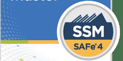 SAFe Scrum Master (SSM) 2 day certification class (GUARANTEED TO RUN)