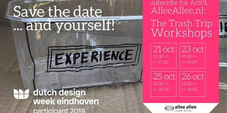 Allee Allee Trash Tour - Workshops & Expo - Let's create society tickets