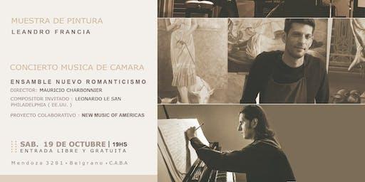 """Concierto Musica de Camara """"New music of Americas"""" invitado L.Le San U.S.A"""