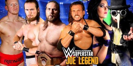 W3L Wrestling Showdown - Edinburgh tickets