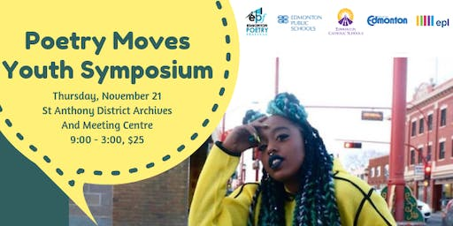 Poetry Moves Youth Symposium 2019