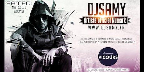 DJ SAMY @ LA Brasserie du Cours | Classic Hip Hop & Urban Music billets
