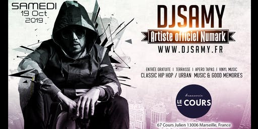 DJ SAMY @ LA Brasserie du Cours | Classic Hip Hop & Urban Music