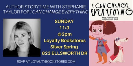 Author Storytime with Stephanie Taylor for I Can Change Everything tickets