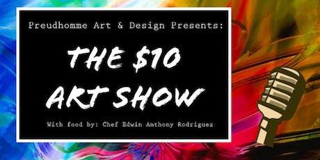 $10 ART SHOW tickets