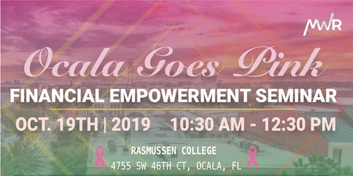 Ocala Goes Pink Financial Gains Tour