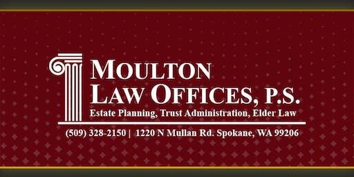 Living Trust Seminar @ Hampton Inn & Suites Spokane Valley