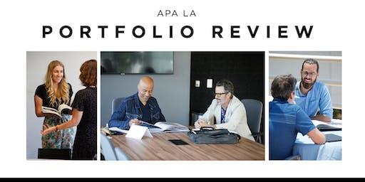 APA/LA Portfolio Review November 16, 2019 at IGNITED Agency