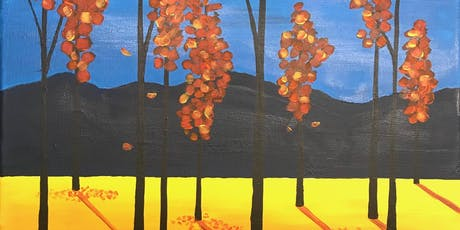 Paint Night for adults--'Sunrise' Landscape--no experience nec, really! tickets