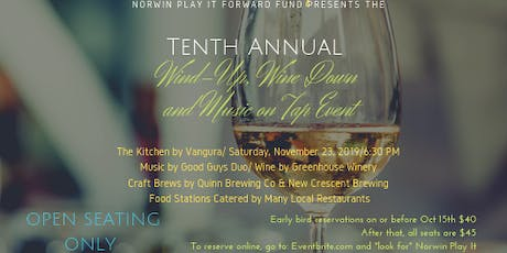 Norwin Play It Forward's Tenth Annual Wind-Up, Wine Down and Music on Tap tickets