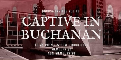 UBC CSA: Captive in Buchanan