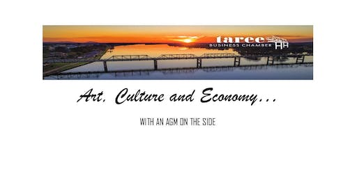 Art, Culture & Economy....with an AGM on the side