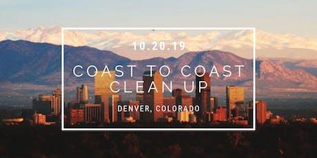 Coast To Coast Clean Up: Denver tickets