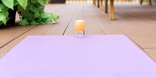 Yoga on the Deck at Guggman Haus Brewing Co.