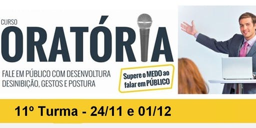 CURSO DE ORATÓRIA - PRESIDENTE PRUDENTE - 11º TURMA