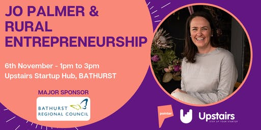 Jo Palmer & Rural Entrepreneurship