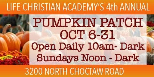 4th Annual LCA Pumpkin Patch