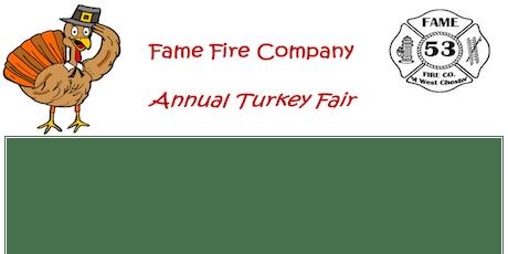 Annual Turkey Raffle tickets