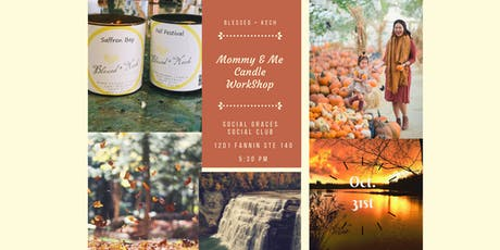 Mommy & Me Fall Candle Workshop tickets