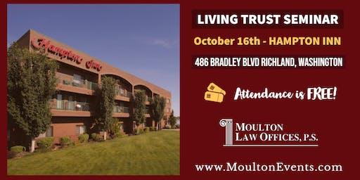 Living Trust Seminar @ Hampton Inn by Hilton Richland/Tri-Cities