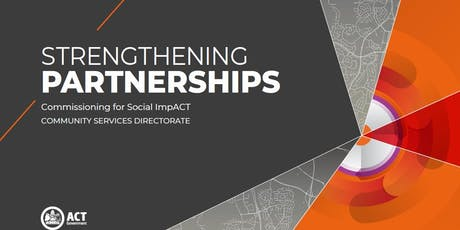 Strengthening Partnerships - Commissioning for Social Impact tickets