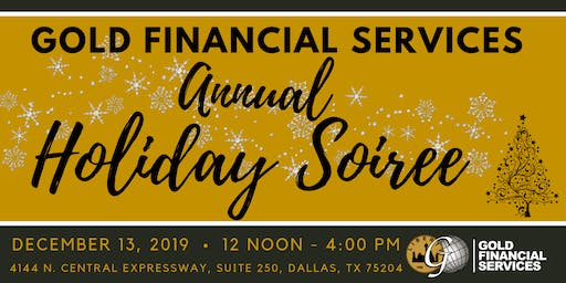 Gold Financial Services 2019 Holiday Soiree