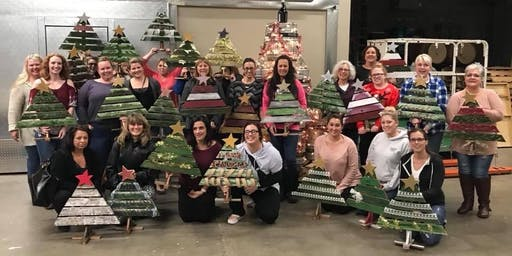 Rustic Christmas Tree Workshop