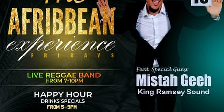 The Afribbean Experience feat Mistah Geeh-King Ramsey Sound tickets
