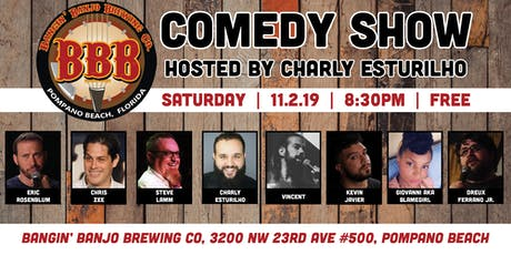 Bangin' Banjo Comedy Show tickets