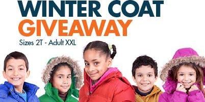 SRTME & Parents Engaging Parents FREE Children's Winter Coats