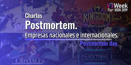 Postmortem day - VG week 2019 entradas