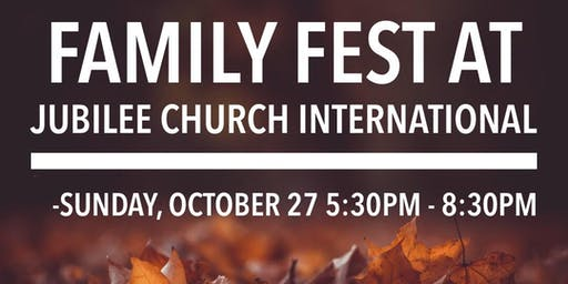 Jubilee Church Family Fest 2019