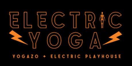 Electric Yoga: Interactive Halloween Yoga  tickets