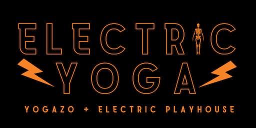 Electric Yoga: Interactive Halloween Yoga