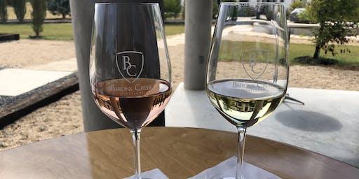 Vino & Vinyasa at the Vineyard