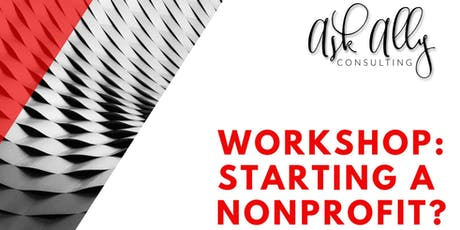 Starting A Nonprofit  tickets