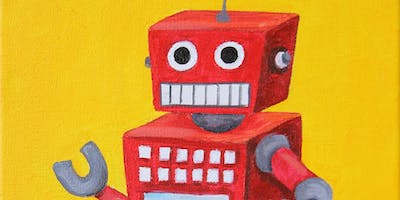 Kids & Grown-Ups Mr. Robot Painting Party