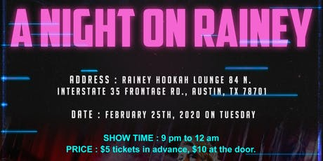 A Night On Rainey tickets