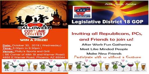 LD18 GOP Republicans Halloween Happy Hour
