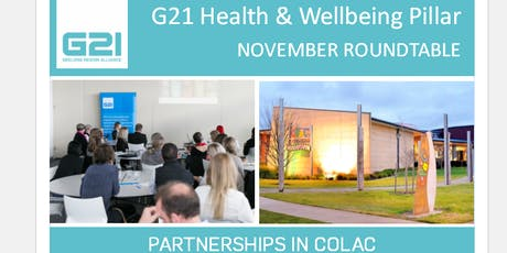G21 HWB Roundtable - November (Colac) tickets