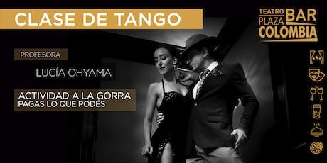 Clase de tango entradas