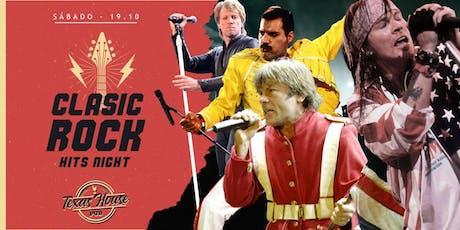 Classic Rock Hits Night @TexasHousePub  ingressos