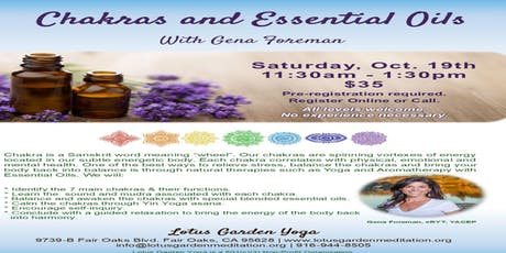 Chakras and Essential Oils tickets