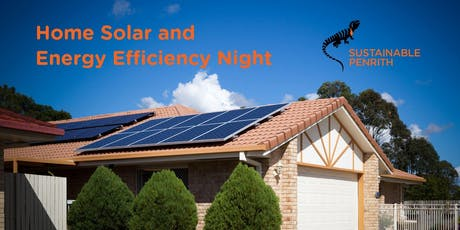 Home solar and energy efficiency night - Penrith City Council tickets